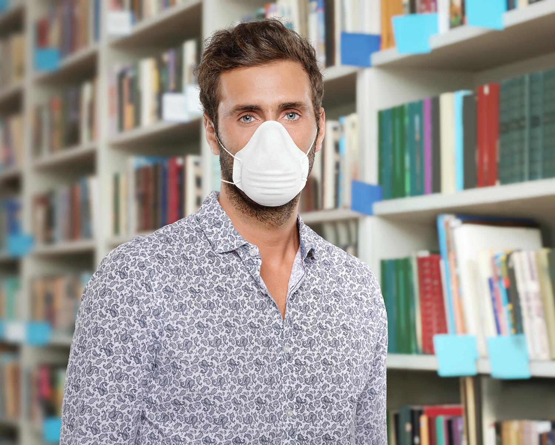 Masque UNS1 individuel à usage des professionnels en contact avec le public